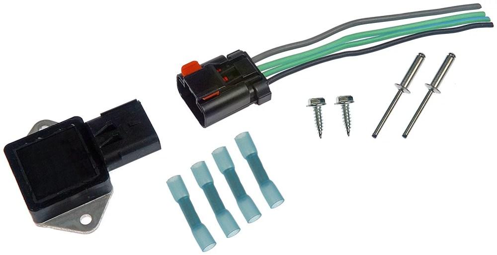 medium resolution of 902 303 radiator fan relay kit new repair relay 19982004 dodge for chrysler wire