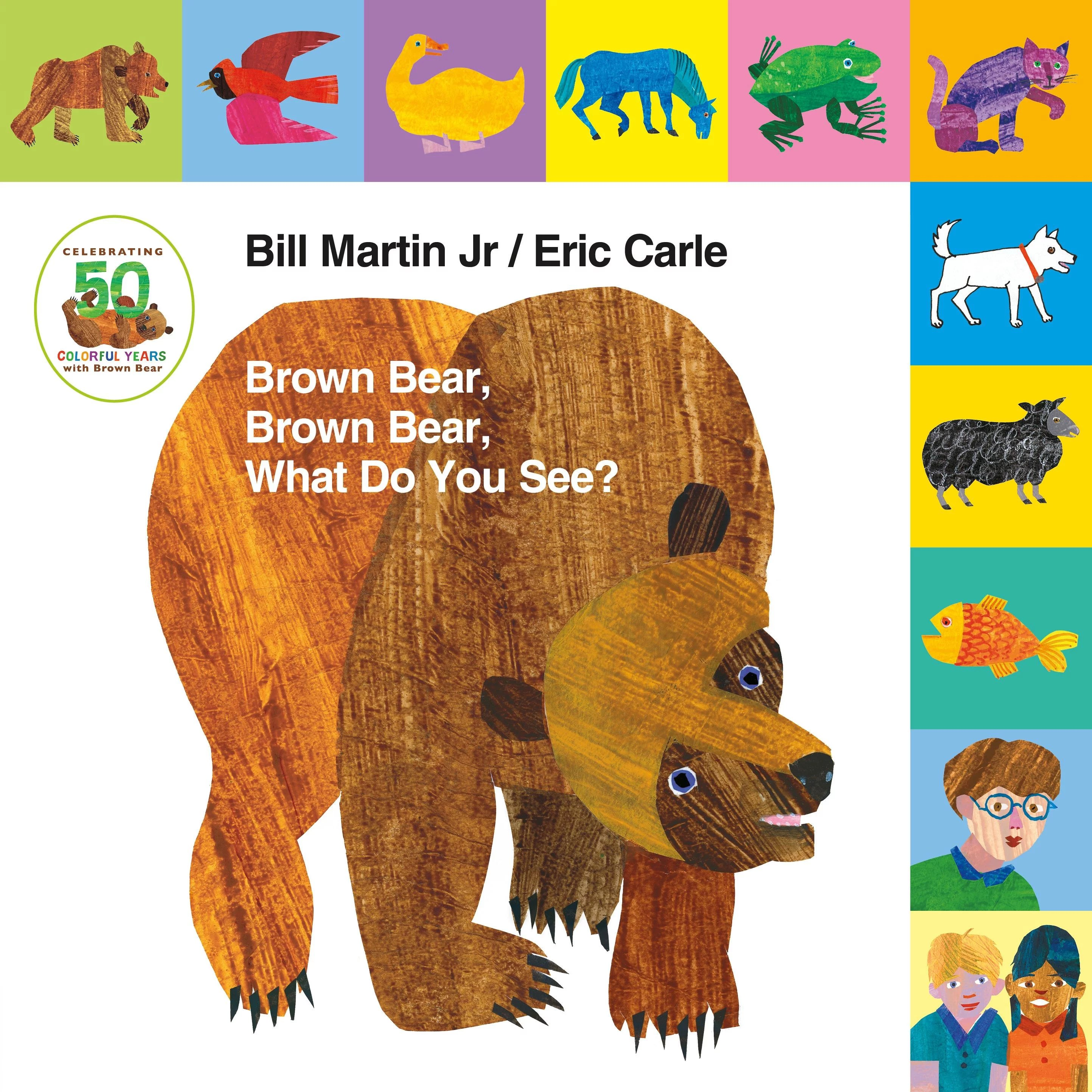 Lift The Tab Brown Bear Brown Bear What Do You See