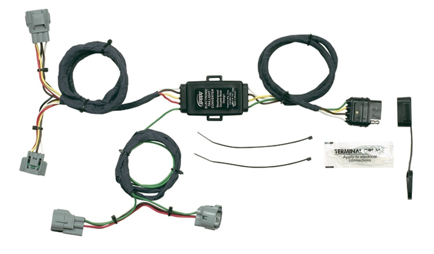 hight resolution of hopkins 43355 plug in simple vehicle wiring kit 43355 connector pioneer car stereo wiring diagram