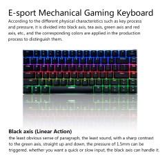 Mechanical Keyboard Wiring Diagram Trailer Light 6 Pin Ajazz Ak33 Linear Action Gaming E Sport Led Colorful 82 Keys Usb Wired Anti Ghosting For Pc Notebook Laptop Desktop Walmart