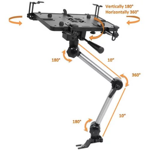 Bundle Deal Mobotron Standard Laptop Mount with Screen Stabilizers