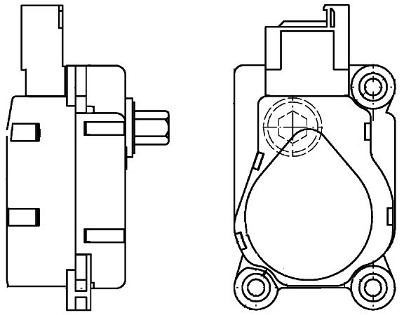 OE Replacement for 2002-2007 Mercedes-Benz C230 A/C Vacuum