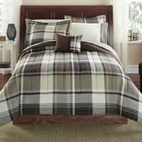 Mainstays 8 Piece Bed-in-a-Bag Bedding Comforter Set ...