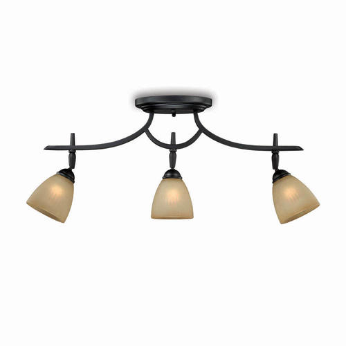 patriot lighting somerville 3 light bronze track lighting set walmart com