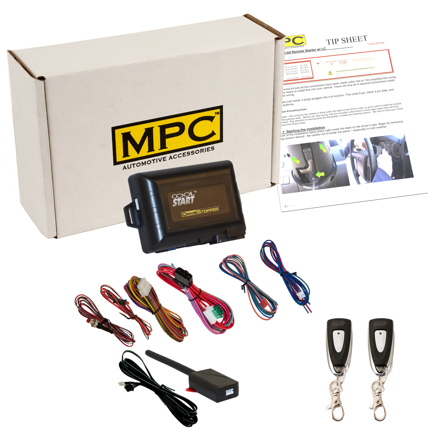 hight resolution of complete 1 button remote start kit for 2002 2004 ford f 250 super duty walmart com