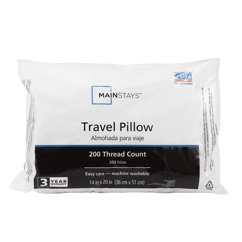 mainstays mainstays travel pillow walmart com