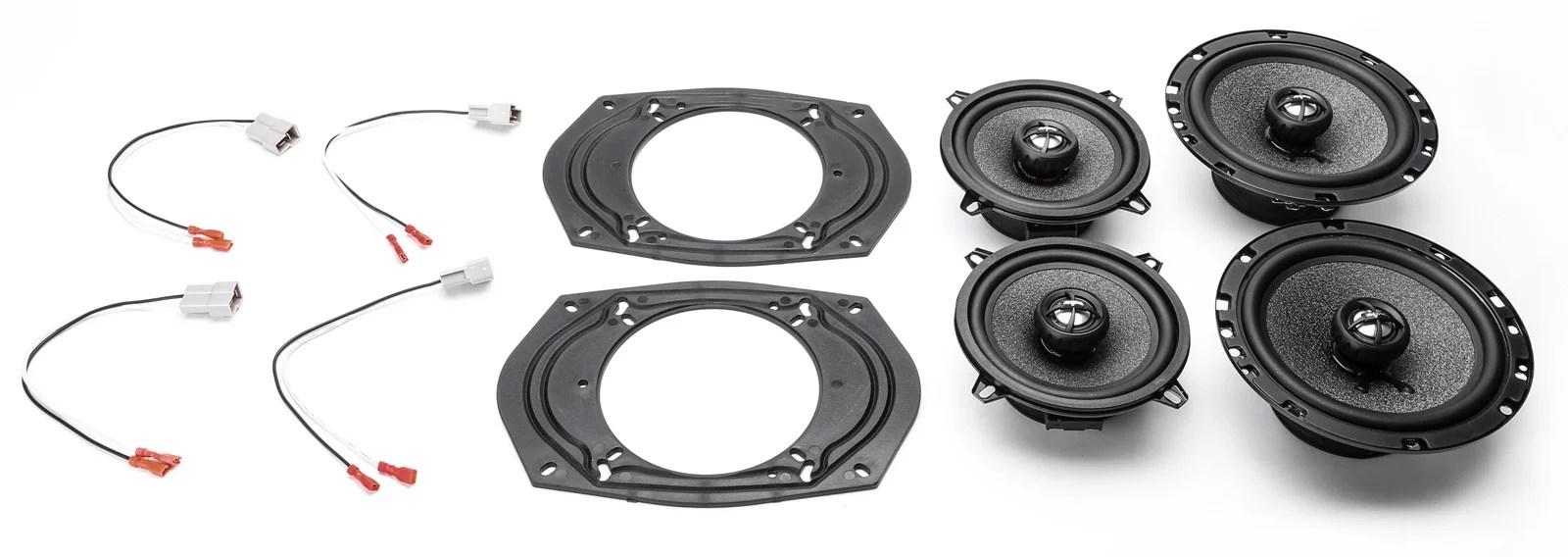 hight resolution of 1991 1995 chevrolet astro van complete front dash rear door factory speaker upgrade package by skar audio walmart com