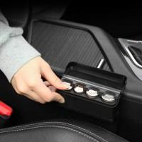[REDshield] Black Car Interior Plastic Coin Case Storage ...