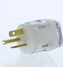 cooper wiring devices 6865hgc straight blade plug angle hg 20a 250v 2p3w walmart com [ 3456 x 3456 Pixel ]