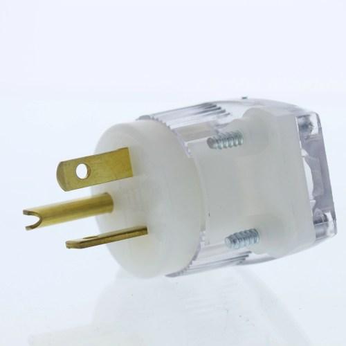 small resolution of cooper wiring devices 6865hgc straight blade plug angle hg 20a 250v 2p3w walmart com