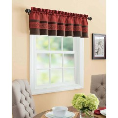 Valances For Kitchen Tall Island The Pioneer Woman Charming Check 3pc Curtain And Valance Set Red Multiple Colors Walmart Com