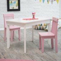 Lipper Mystic Table and Chair Set - Pink - Walmart.com