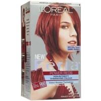 L'Oreal Feria Permanent Haircolour Gel, R68 Ruby Rush ...