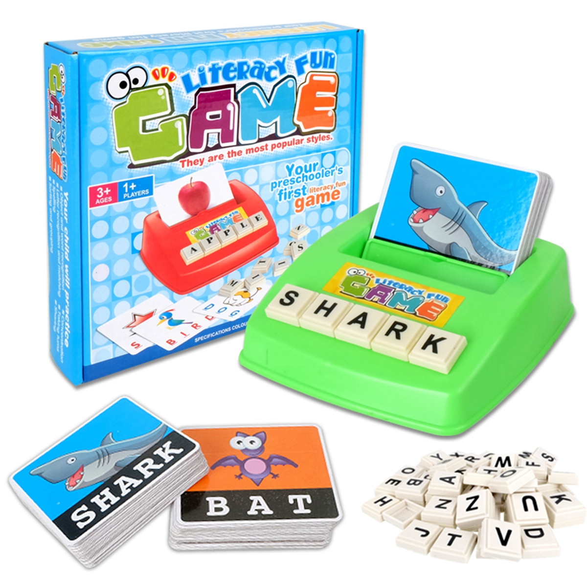 Early Learning Educational Toy 26 English Letter Spelling