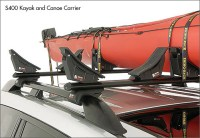 Rhino Rack Kayak Canoe Carrier Base Unit 4 pads S400 ...