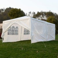 Costway 10'x20'Canopy Pavilion Cater Events Outdoor Party ...