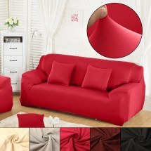 Loveseat Cover - 1pcs L Shape Stretch Fabric Sofa