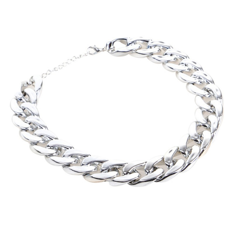 Dog Chain Collar Pet Plastic Fashion and Cool Necklace for