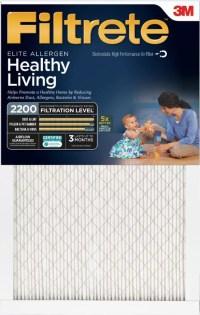 Filtrete Elite Allergen Reduction HVAC Furnace Air Filter ...
