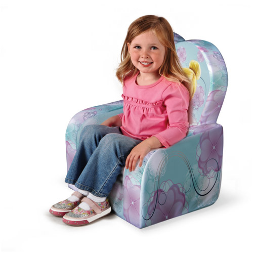 Marshmallow Fun Furniture High Back Chair, Disney Fairies