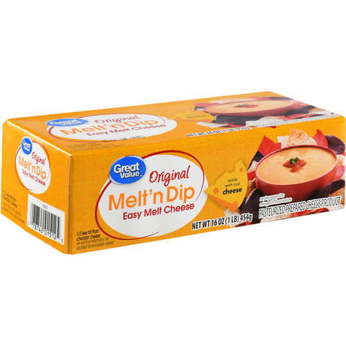 Great Value Easy Melt Cheese, 16 Oz Walmartcom