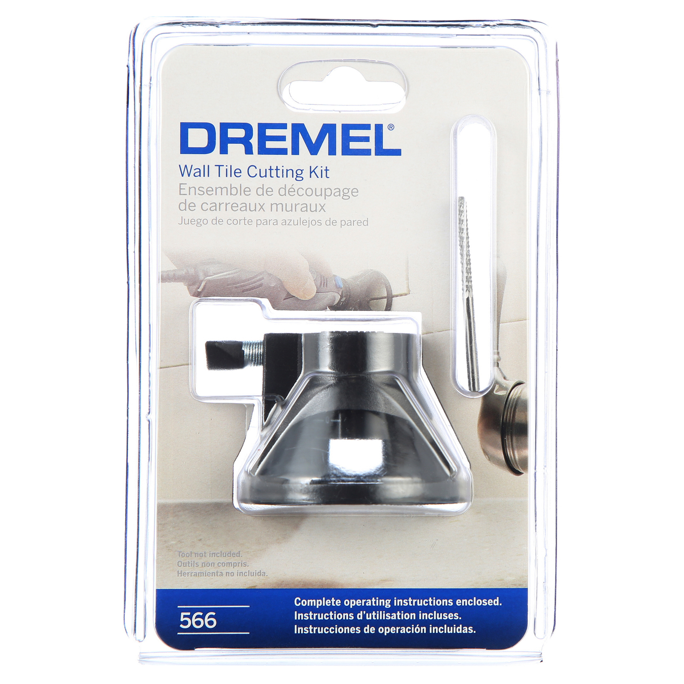 how to use a dremel tile cutting bit