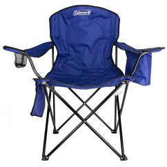 Walmart Lawn Chair Rocking Replacement Seat Slats Coleman Camping W Built In Cooler And Cup Holder Blue 2000020266 Com