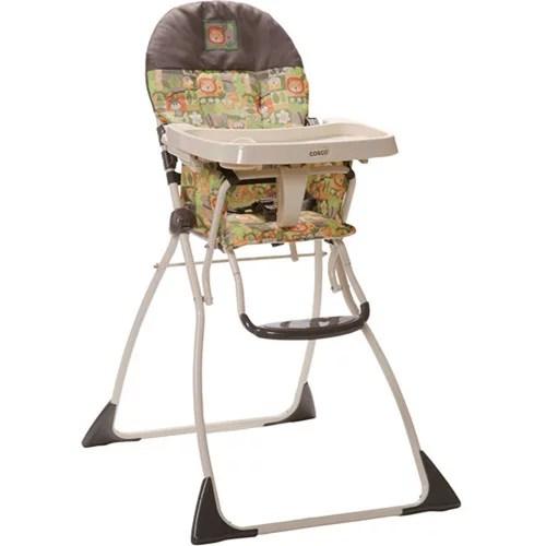 safari high chair how to replace lawn webbing cosco flat fold born be wild walmart com