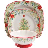 Gibson Christmas Dishes Dinnerware Sets. Finest American ...