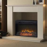Homestar Flamelux Electric Fireplace Insert - Walmart.com