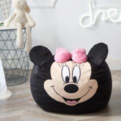 Minnie Mouse Chair Walmart Aluminum Sling Chairs Disney Figural Bean Bag Com