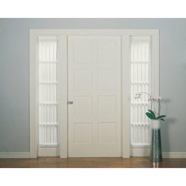 Mainstays Marjorie Sidelight Curtain Panel 28x72 029927451771