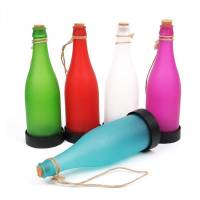 Solar Powered LED Bottle Lamp Lights Hanging Wine Bottle ...