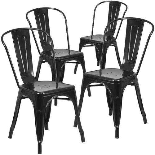indoor outdoor chairs two chair dining table set flash furniture metal 4 pack multiple colors walmart com