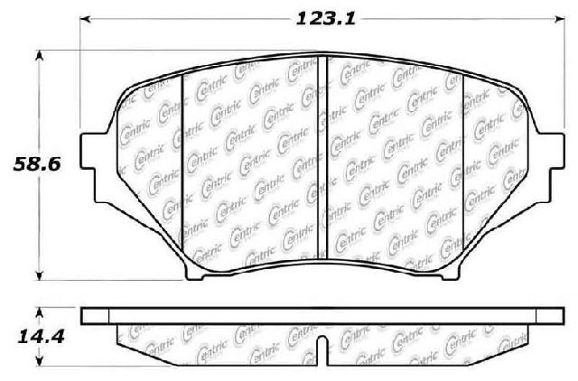 Go-Parts » 2006-2015 Mazda MX-5 Miata Front Disc Brake Pad
