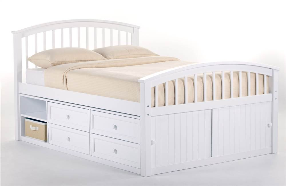 full size captain bed