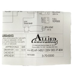 allied innovations 3 70 0550 wiring diagram ap 1400 rs 1400 1 220v ded 1p 4kw walmart com [ 2115 x 1696 Pixel ]