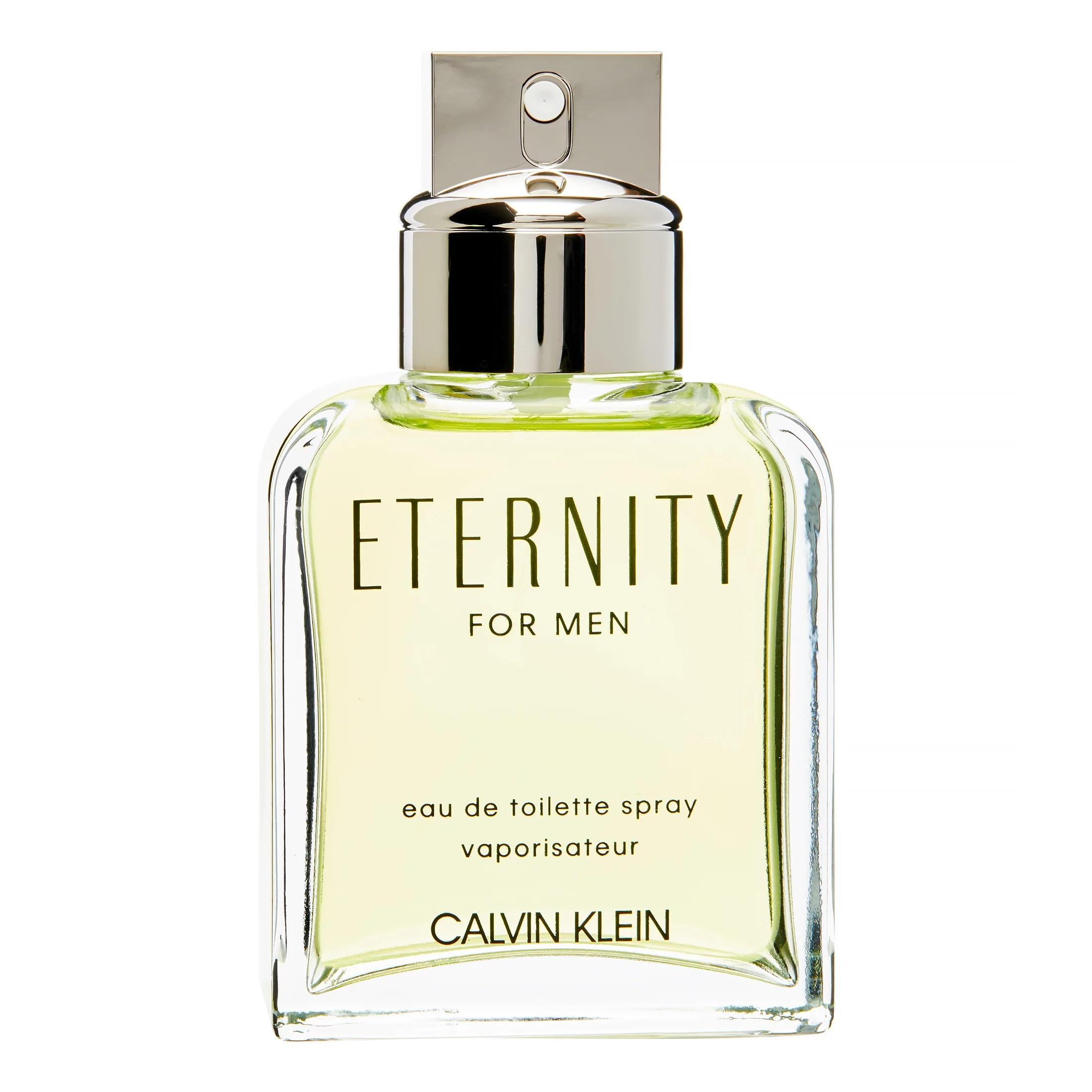 Calvin Klein Eternity Eau De Toilette Spray, Cologne for Men, 3.4 Oz