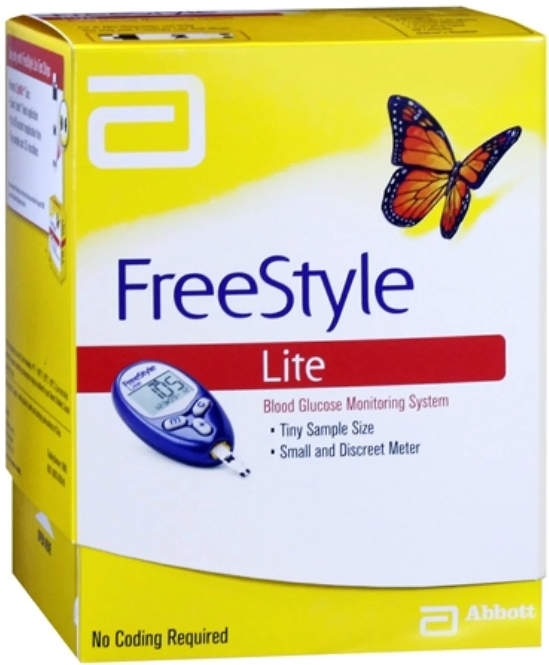 Freestyle Lite Test Strips Walgreens : freestyle, strips, walgreens, FreeStyle, Blood, Glucose, Monitoring, System, Walmart.com