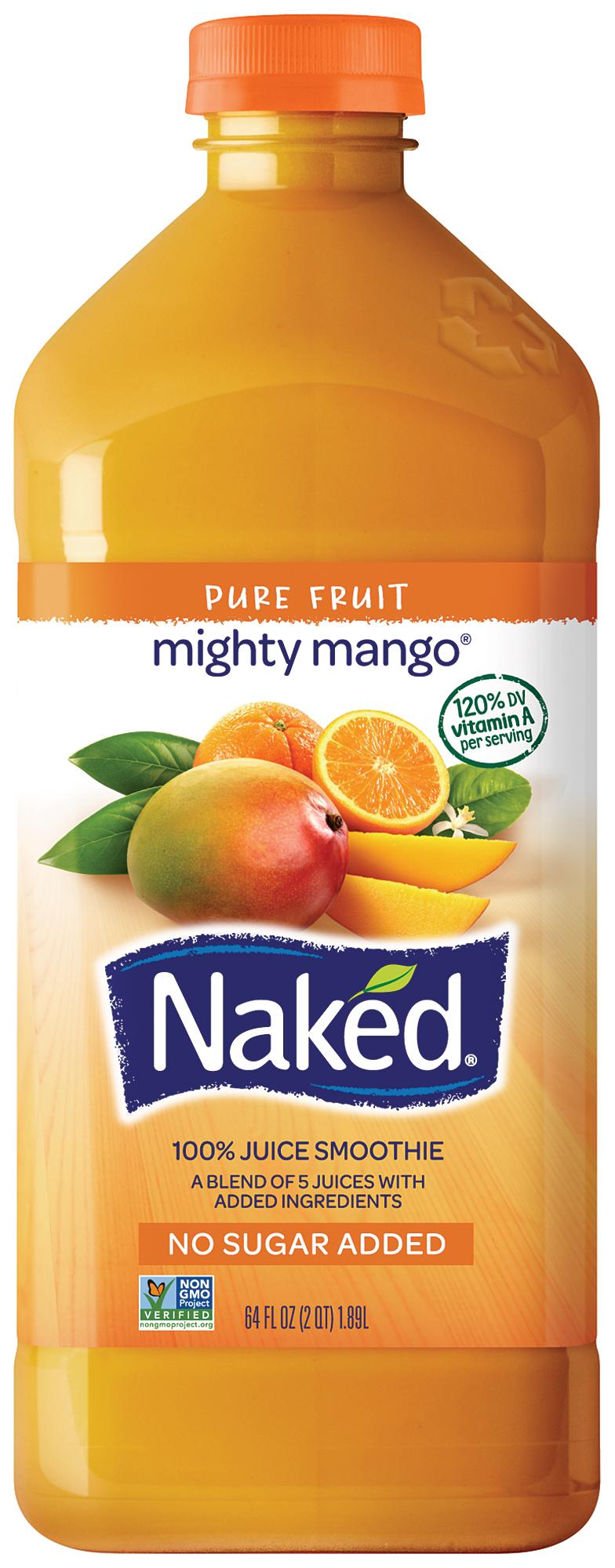 Naked Juice Might Mango 100 Juice Smoothie 64 fl oz