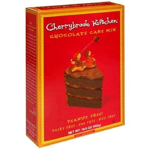 Cherrybrook Kitchen Chocolate Cake Mix Peanut Free 195