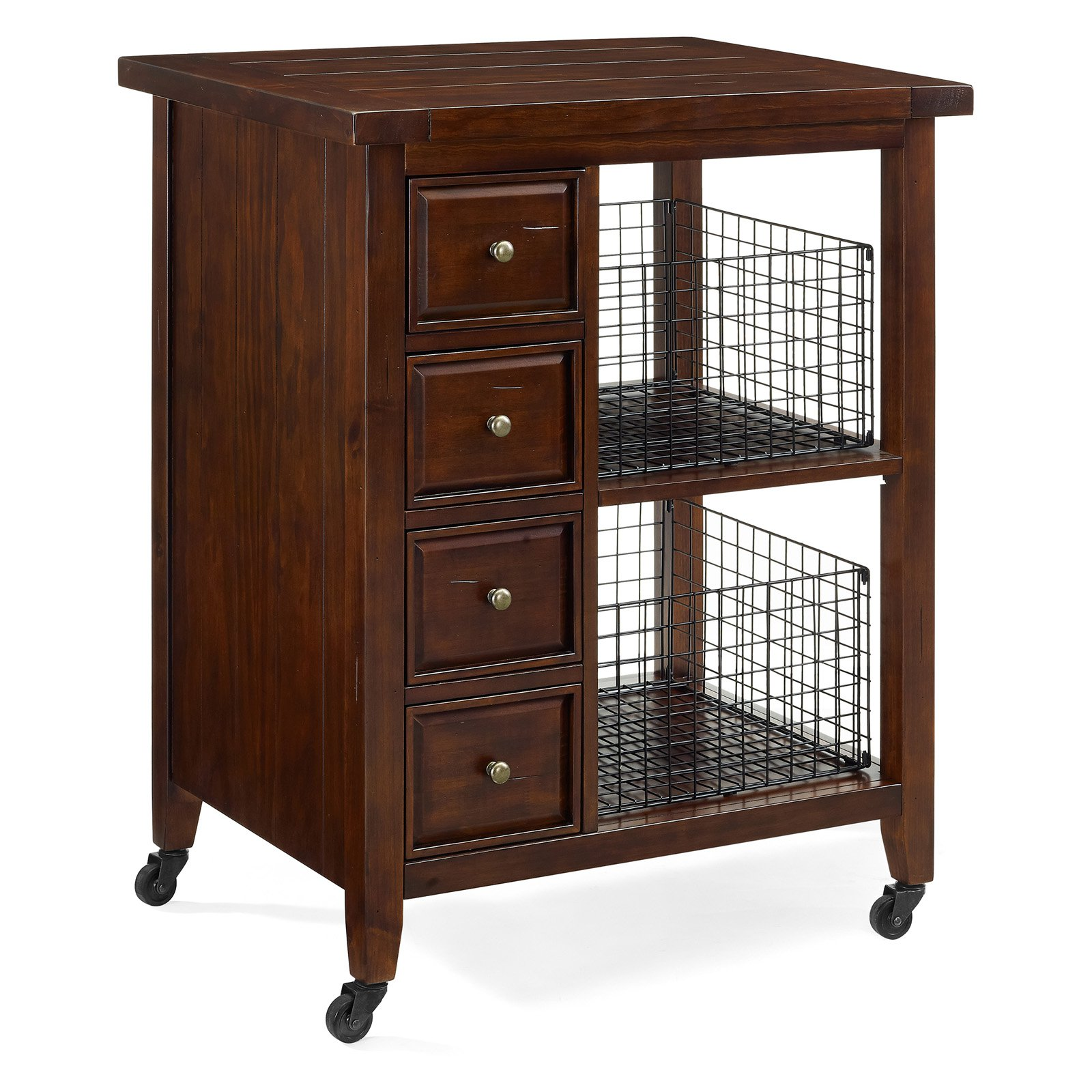 crosley kitchen cart table set sienna walmart com