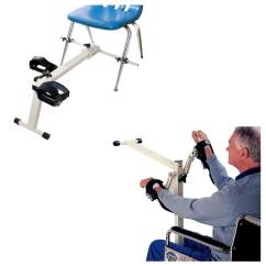 Resistance Chair Accessories Cover Rentals Birmingham Al Cando Cycle Pedal Exerciser And Walmart Com