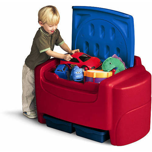 Little Tikes Sort N Store Toy Chest Multiple Colors