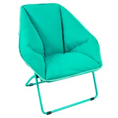Large Saucer Chair Cover Microfiber Office High Back Redcamp Folding Dish For Teens Kids Adults Turquoise 34x23 6x17 Inches Walmart Com