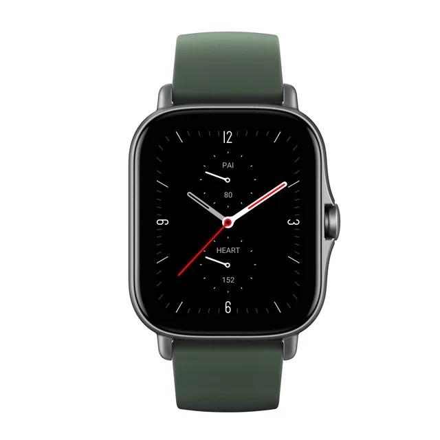 AmazFit GTS 2e Smartwatch, Moss Green