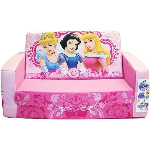 disney flip open sofa bed denim slipcover t cushion princess walmart com departments
