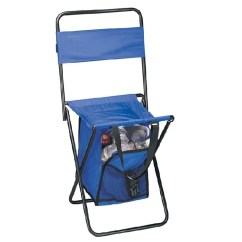 Folding Chair Nylon Cover Rentals Oshawa Outdoor Large With Cooler Walmart Com