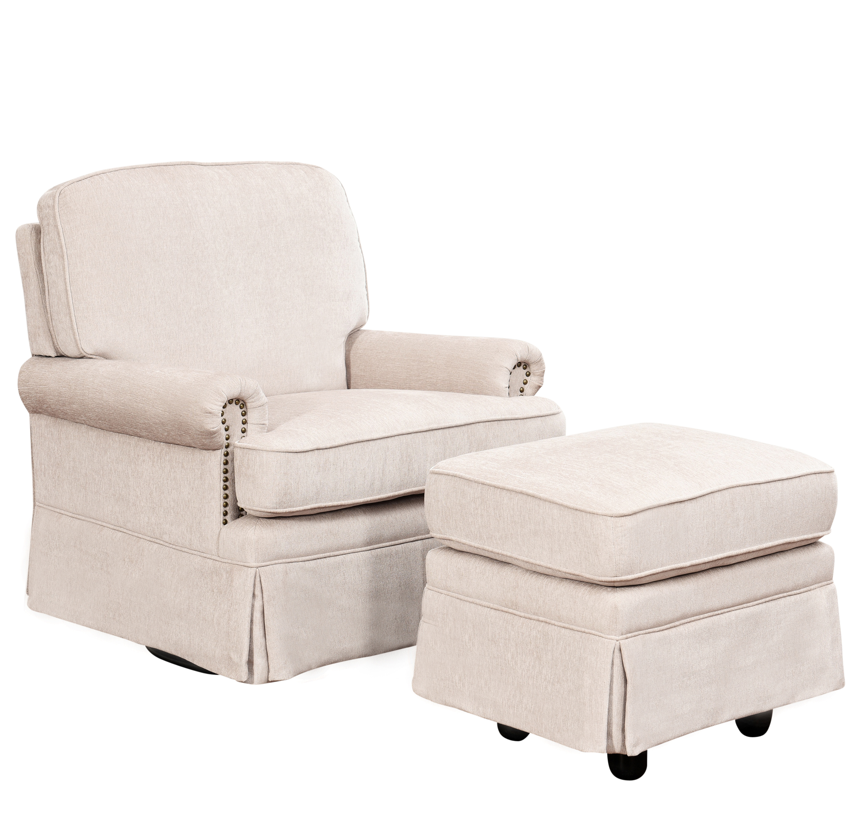Gliding Chair Gliding Chair With Ottoman