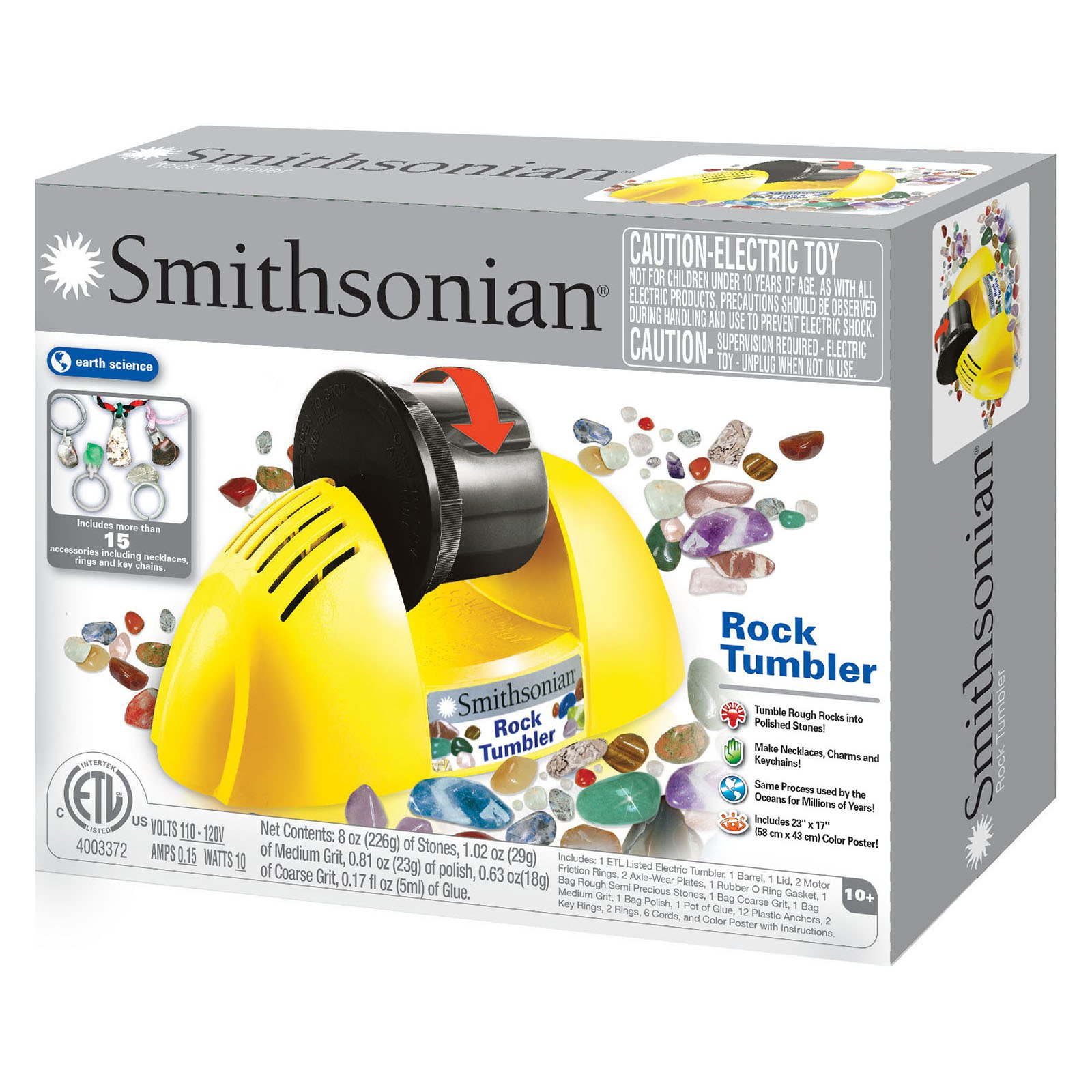 Smithsonian Rock Tumbler 1 Each Walmart